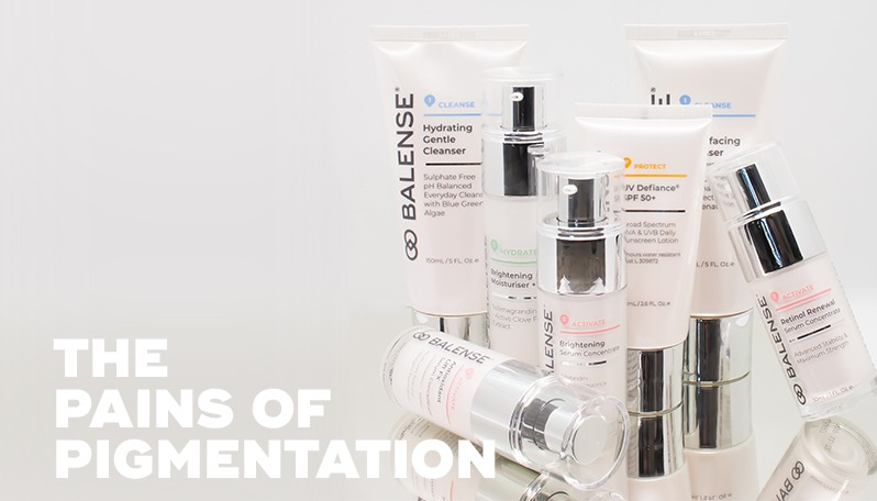 THE PAINS OF PIGMENTATION